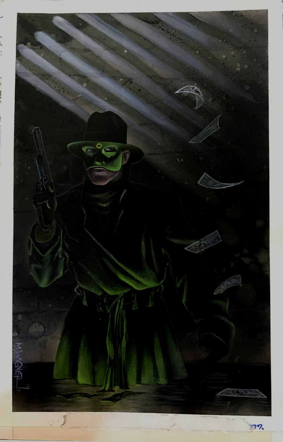 Green Hornet #10 Painted Cover (1990)