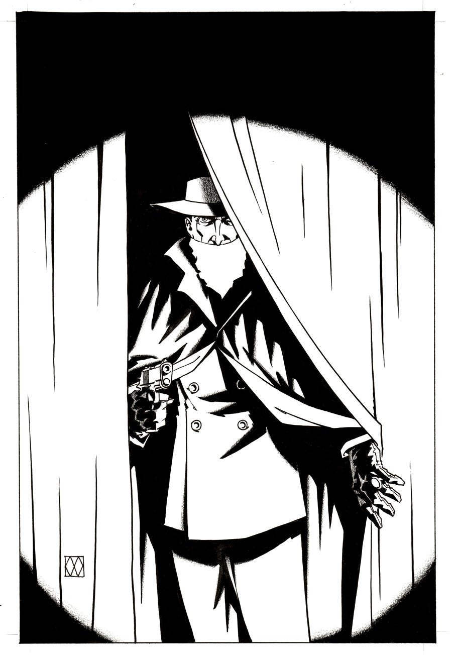 The Shadow: Year One #8 Cover (2013)