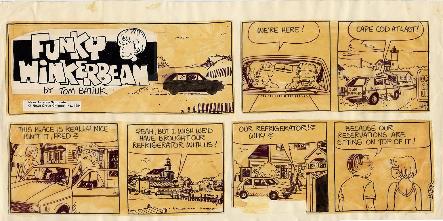 Funky Winkerbean Sunday Strip