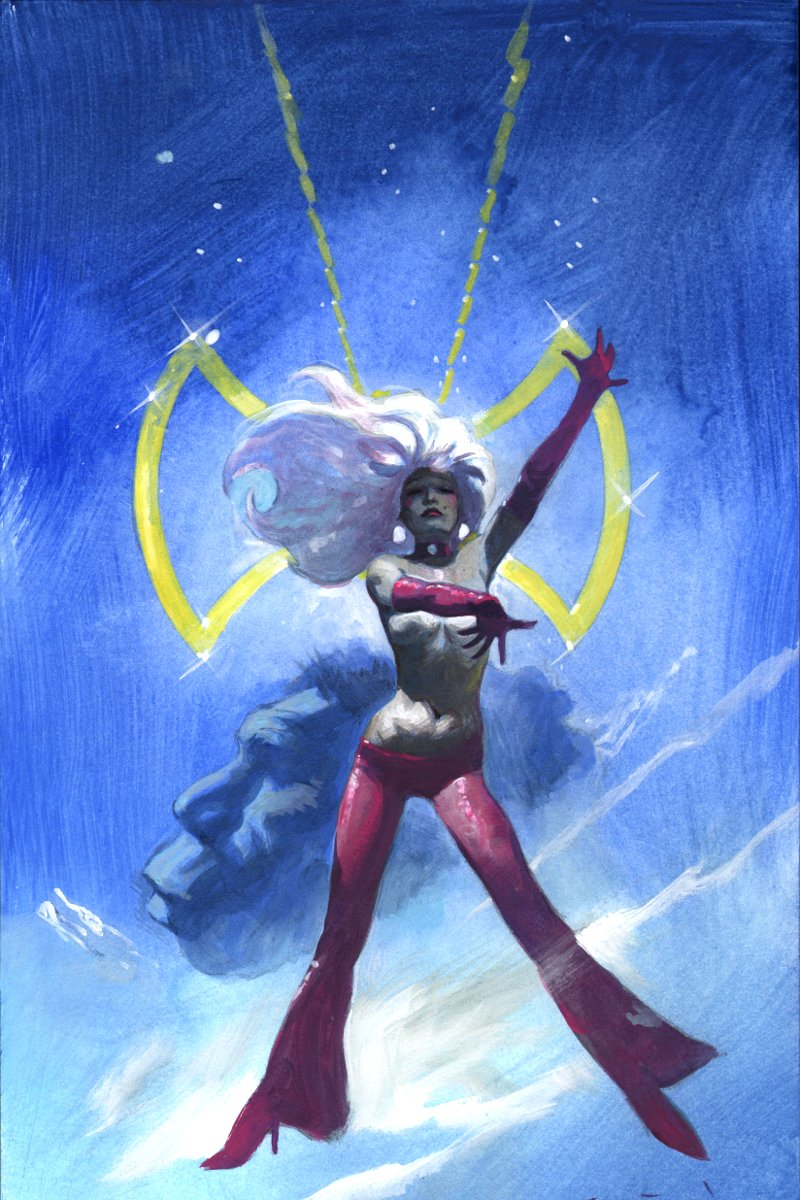 Octavia - Graphic Novel Cover Painting (2011)
