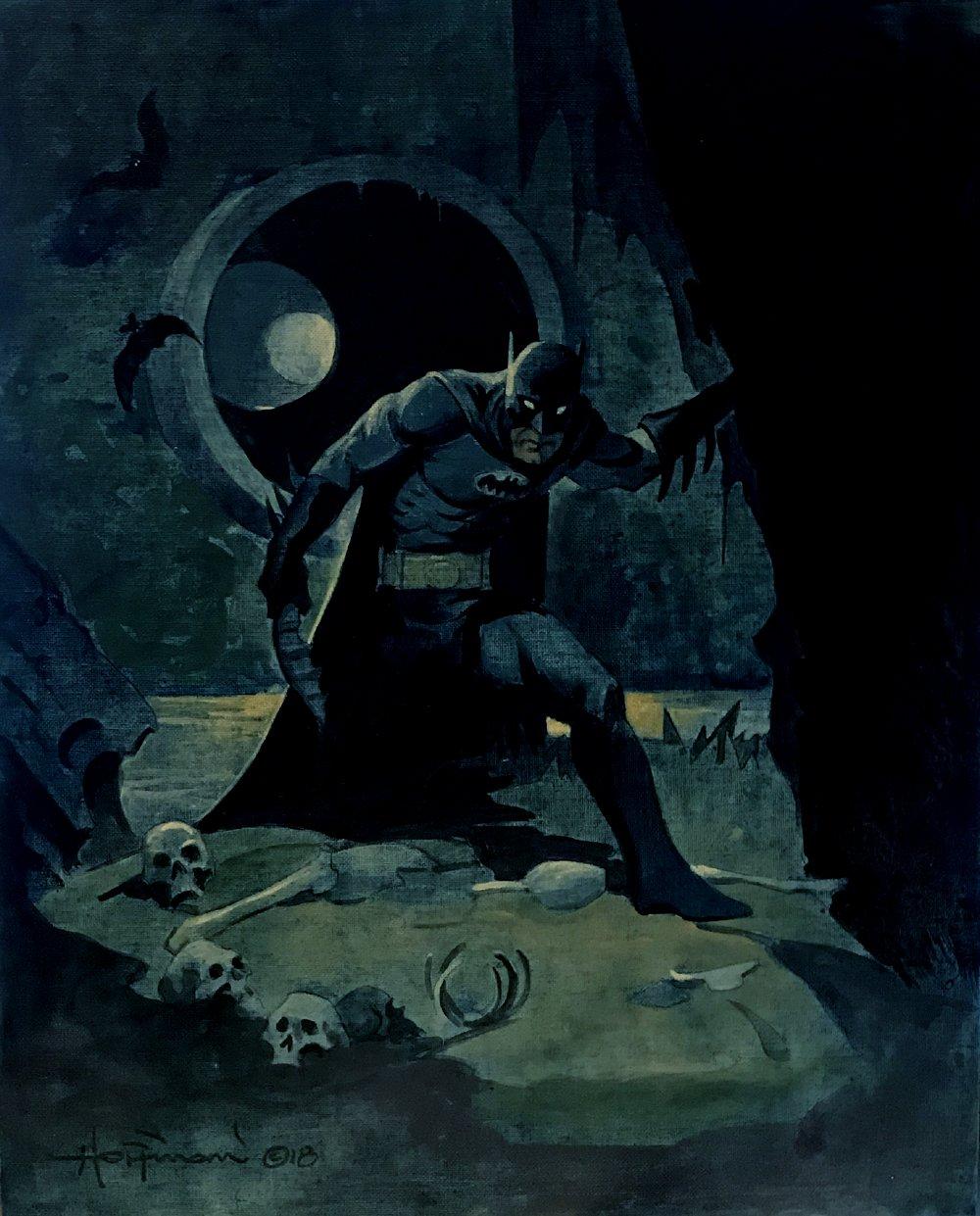 Batman Painting (Very Large) 2018