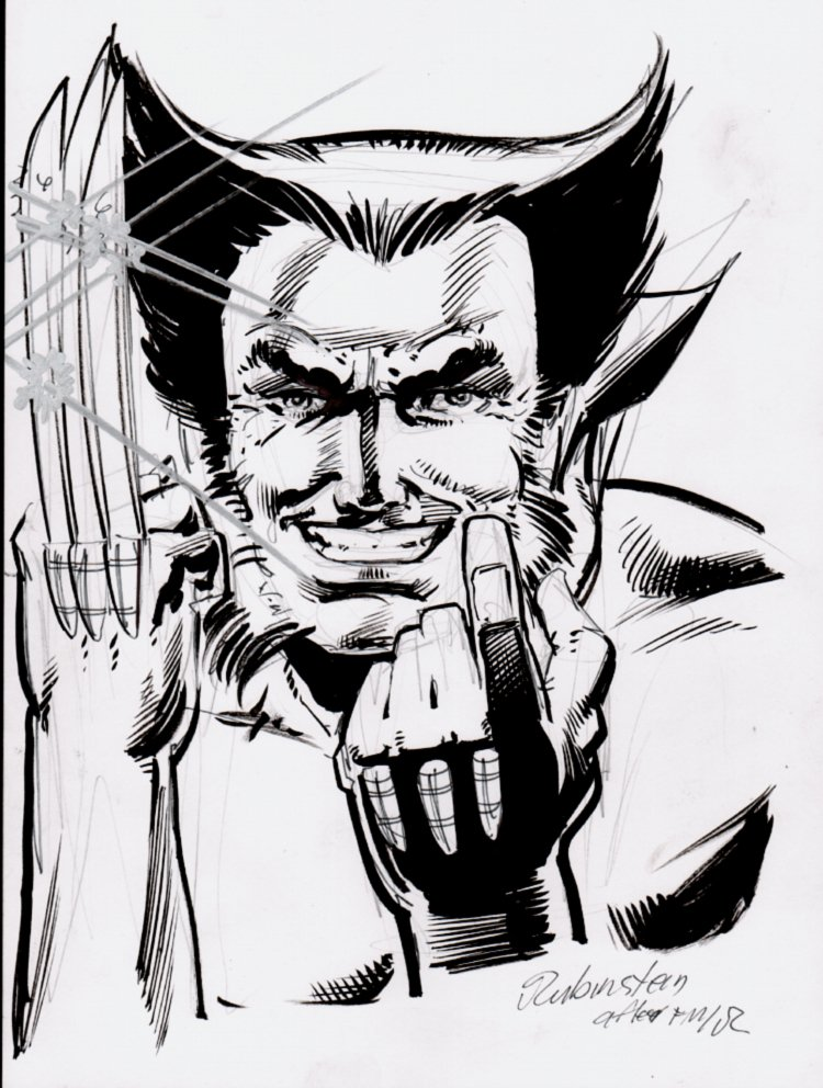 Wolverine #1 Cover Recreation