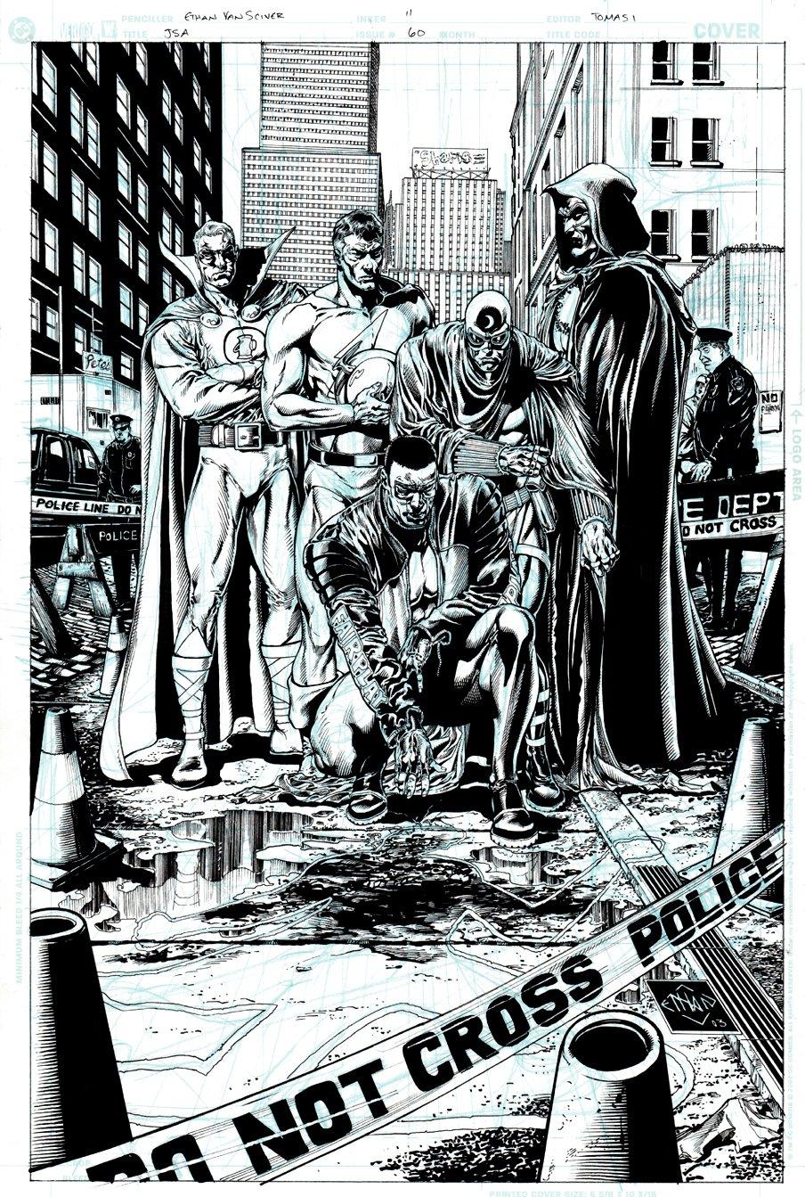 JSA #60 Unused Cover (2003)