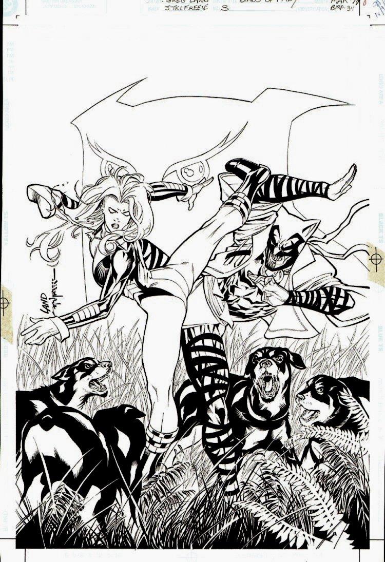 Birds of Prey #3 Cover (1999)