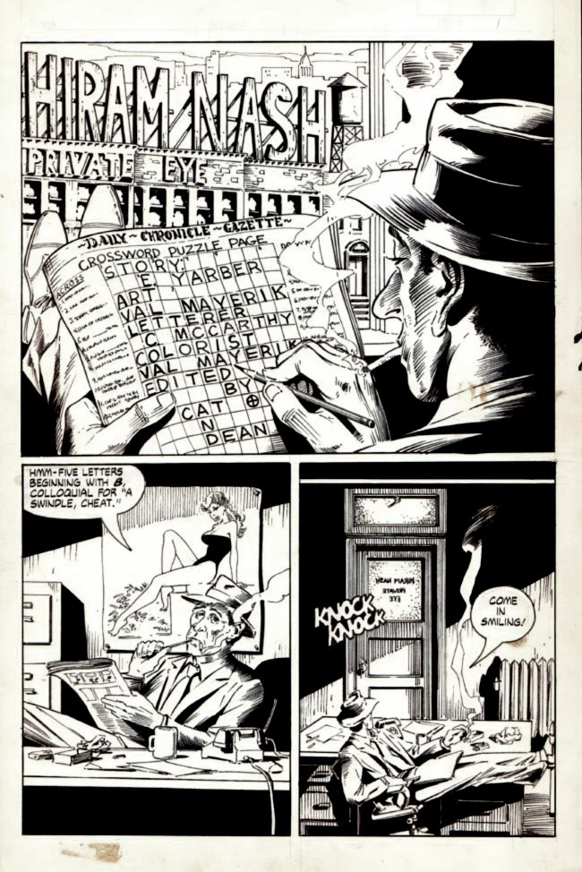 The Masked Man #1 Complete 4 Page Story (1984)