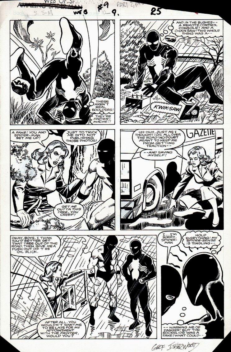 Web of Spider-Man #9 p 25 (1985)