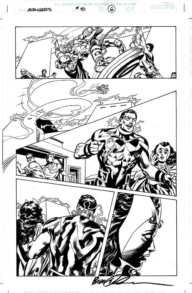 Avengers #51 p 6 (Wonder Man / Scarlet Witch!) 2001