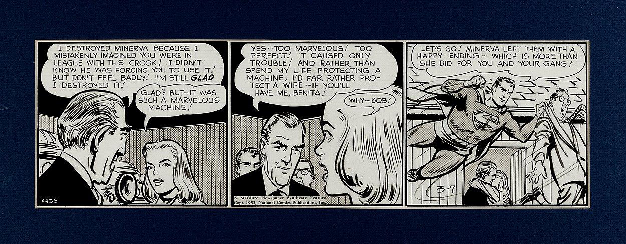 Superman Daily Strip (3-7-53)