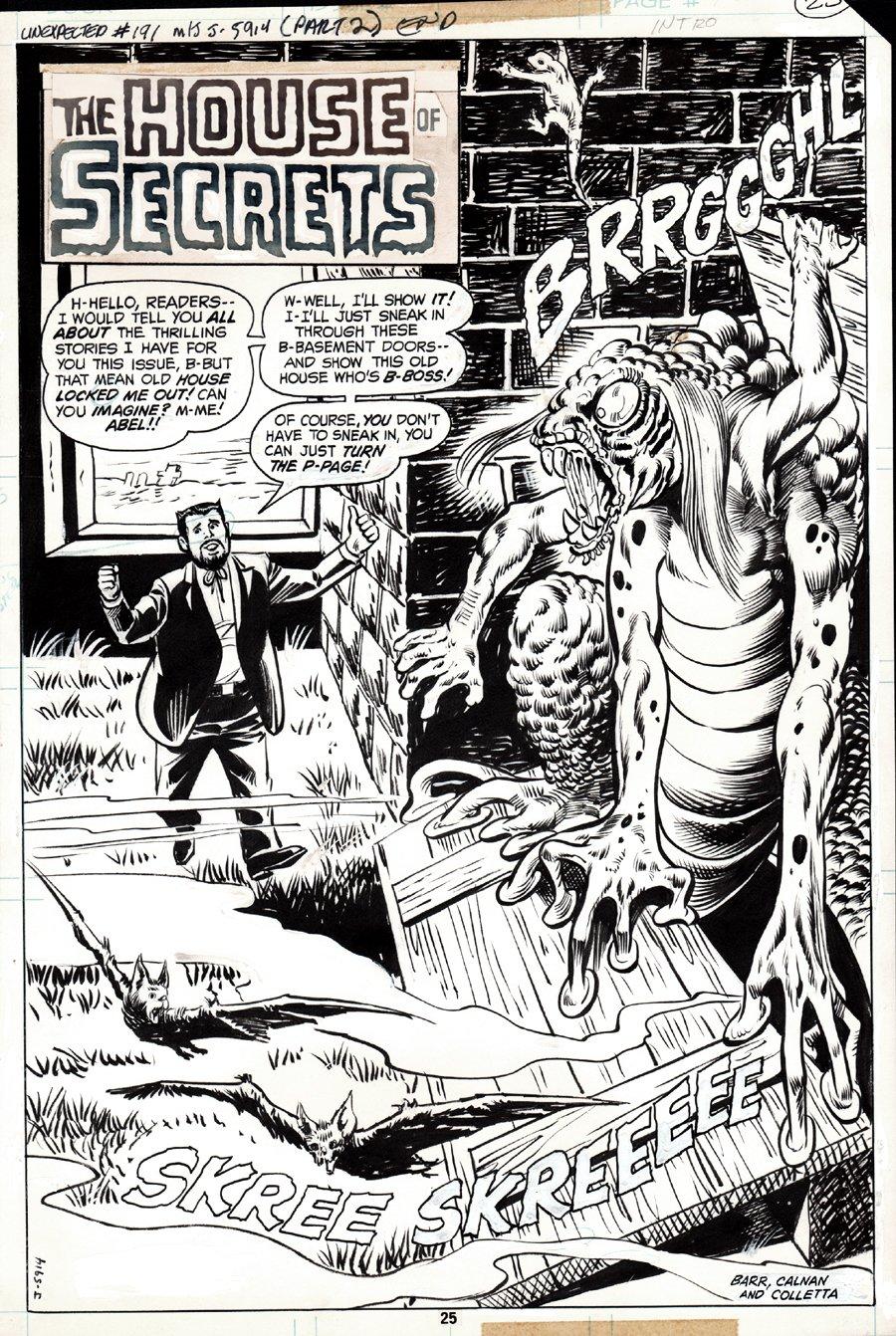 The Unexpected #191 SPLASH (1979)