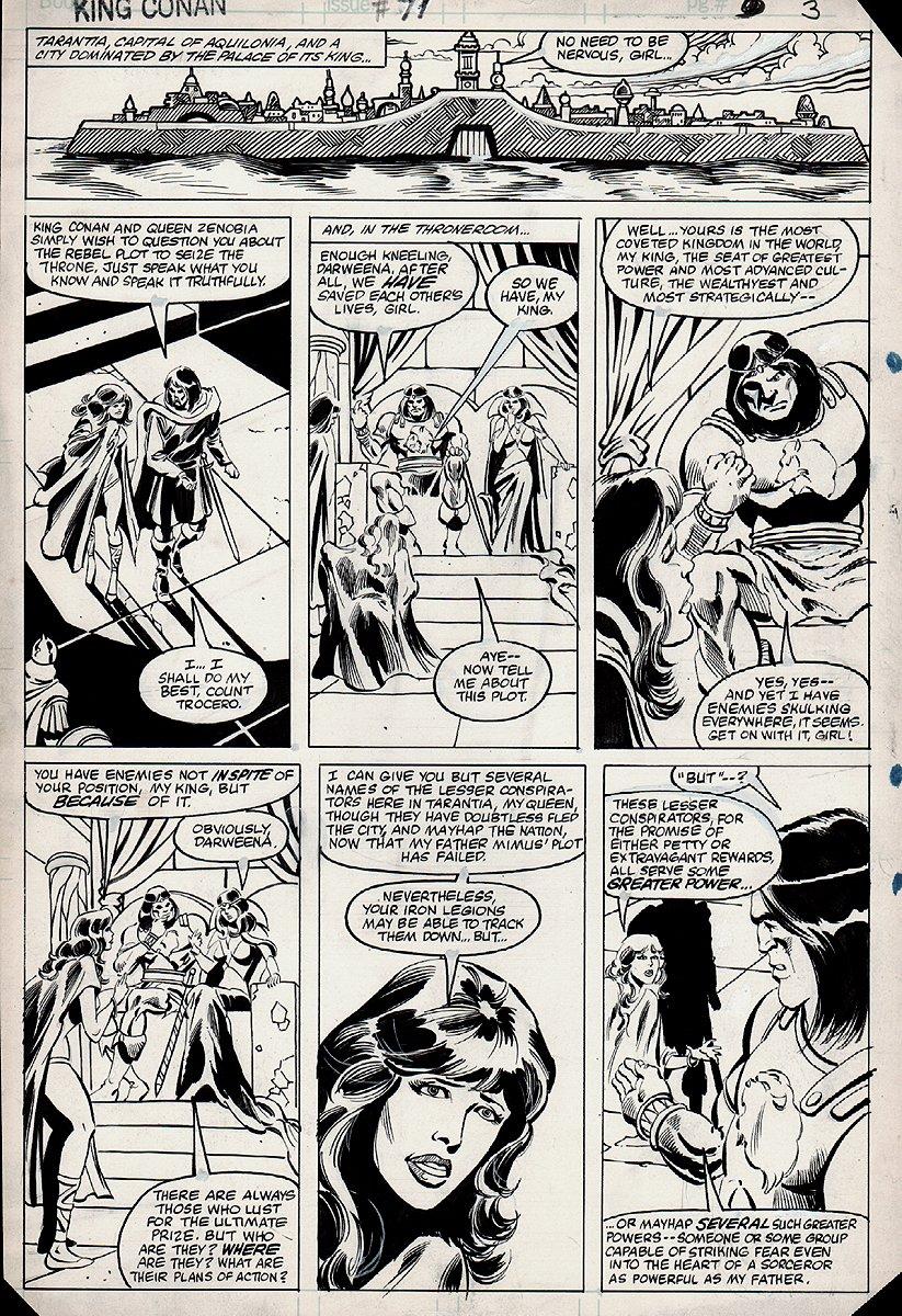 King Conan #11 p 3 (1982)