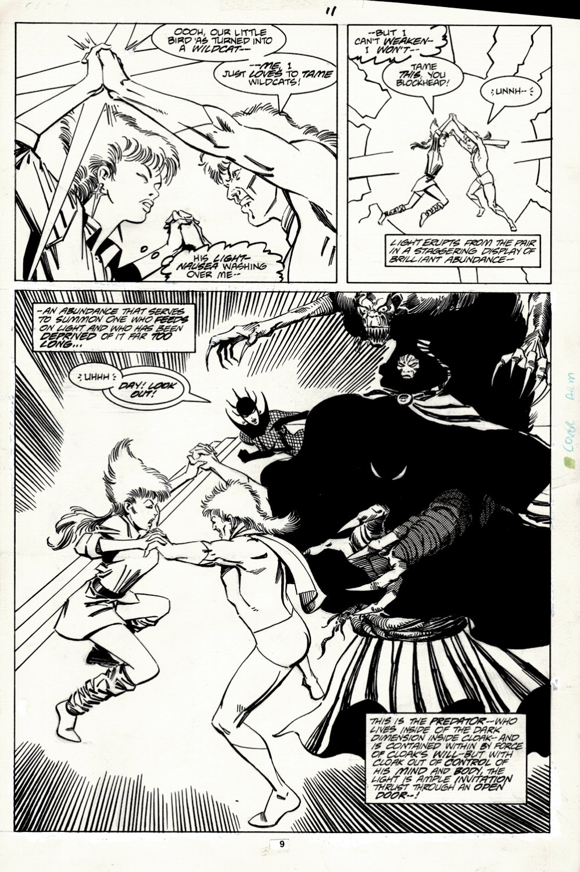 Strange Tales #11 p 9 SEMI-SPLASH (CLOAK BATTLE!) 1987