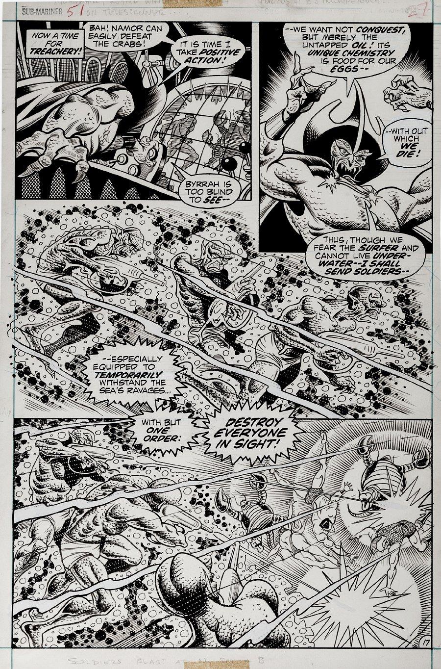 Sub-Mariner #51 p 17 (1972)