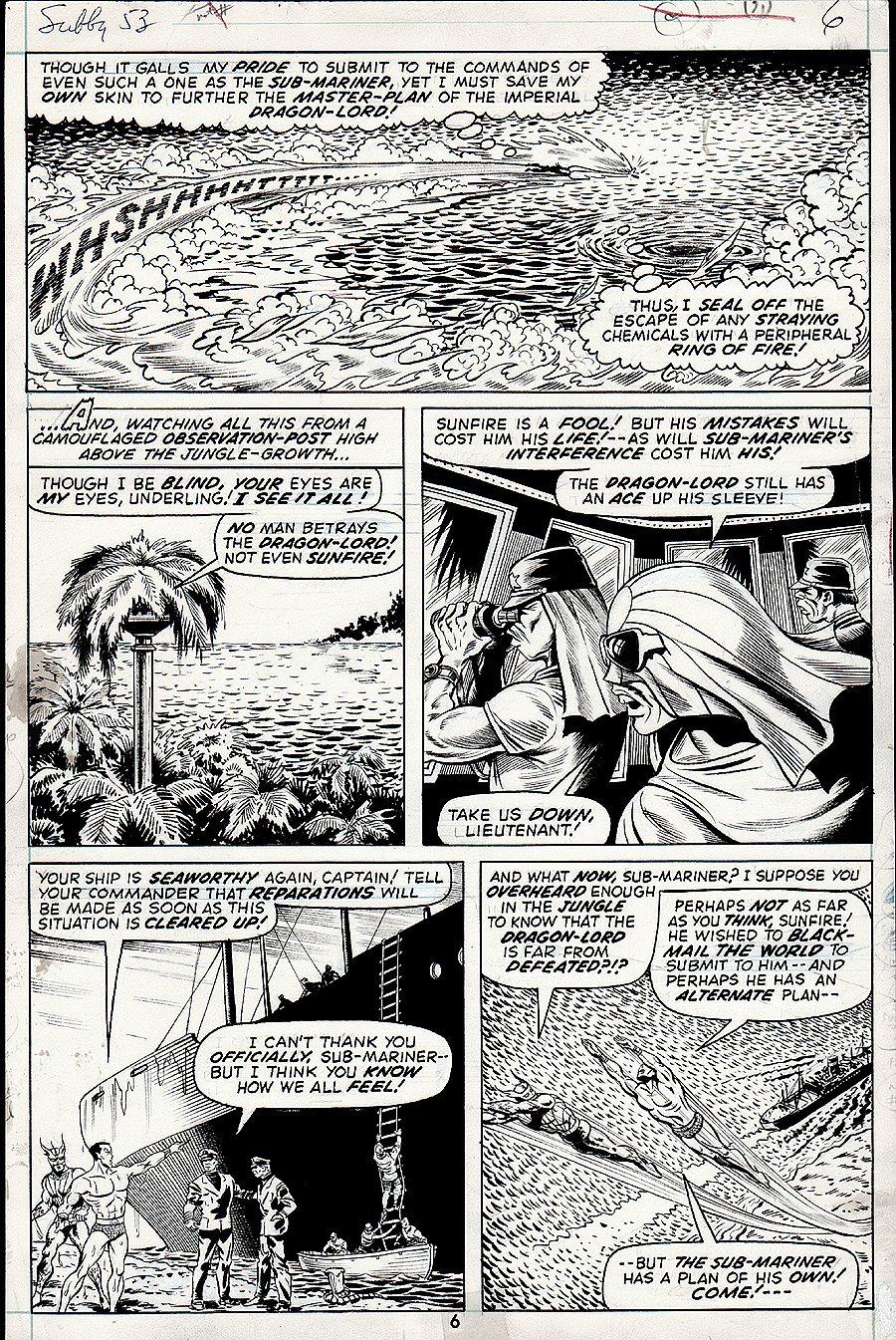 Sub-Mariner #53 p 6 (1972)