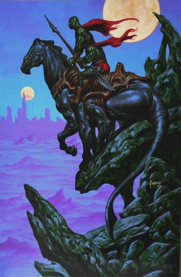 Warlord of Mars Cover Painting (2012)