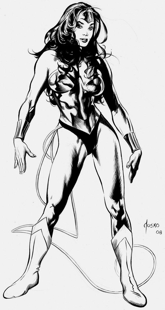 Wonder Woman Painting (2008)