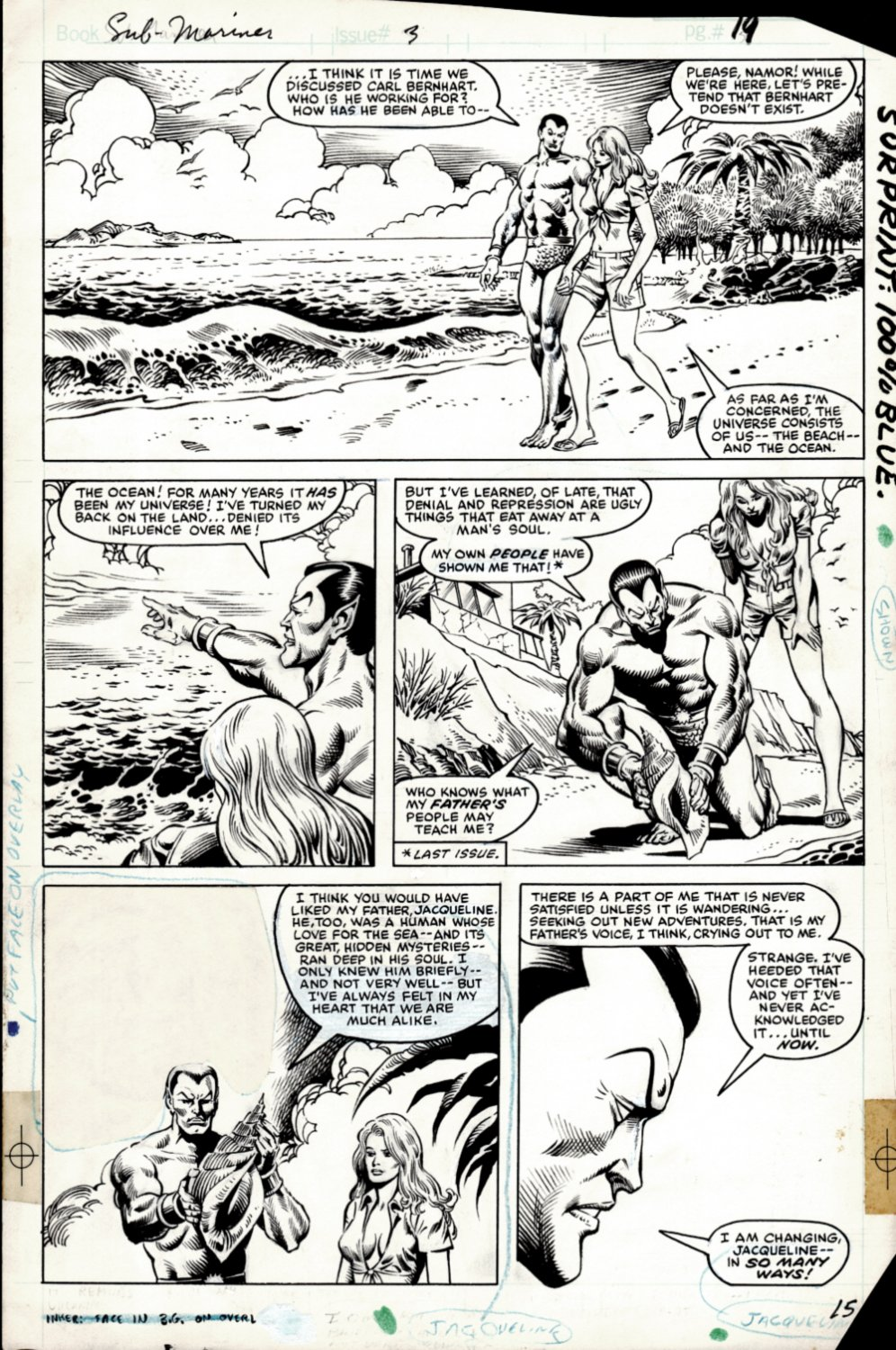 Prince Namor, the Sub-Mariner #3 p 15 (SOLD LIVE ON THE ROMITAMAN ART DROP PODCAST ON 10-9-2021