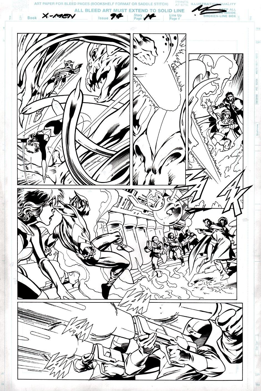 X-Men #94 p 14 (Rogue & Sunfire) 1999