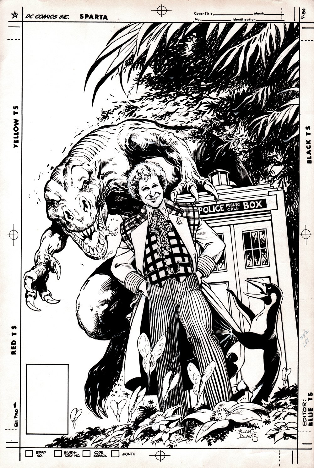 Doctor Who: Age Of Chaos #1 Cover (1994)