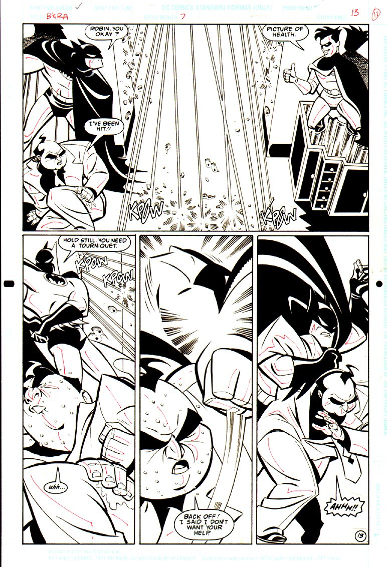 Batman & Robin Adventures #7 p 13 SPLASH