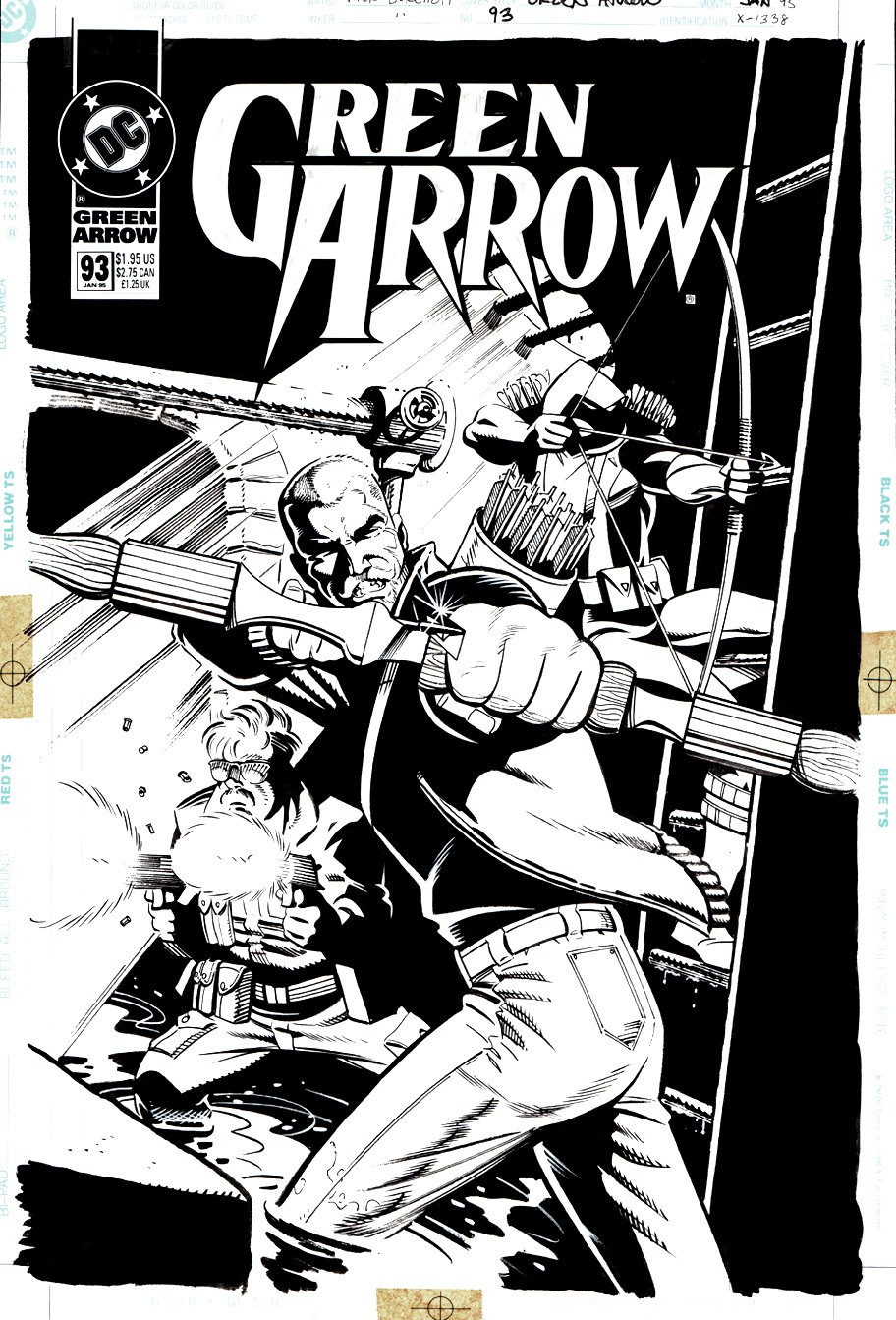 Green Arrow #93 Cover (1994)