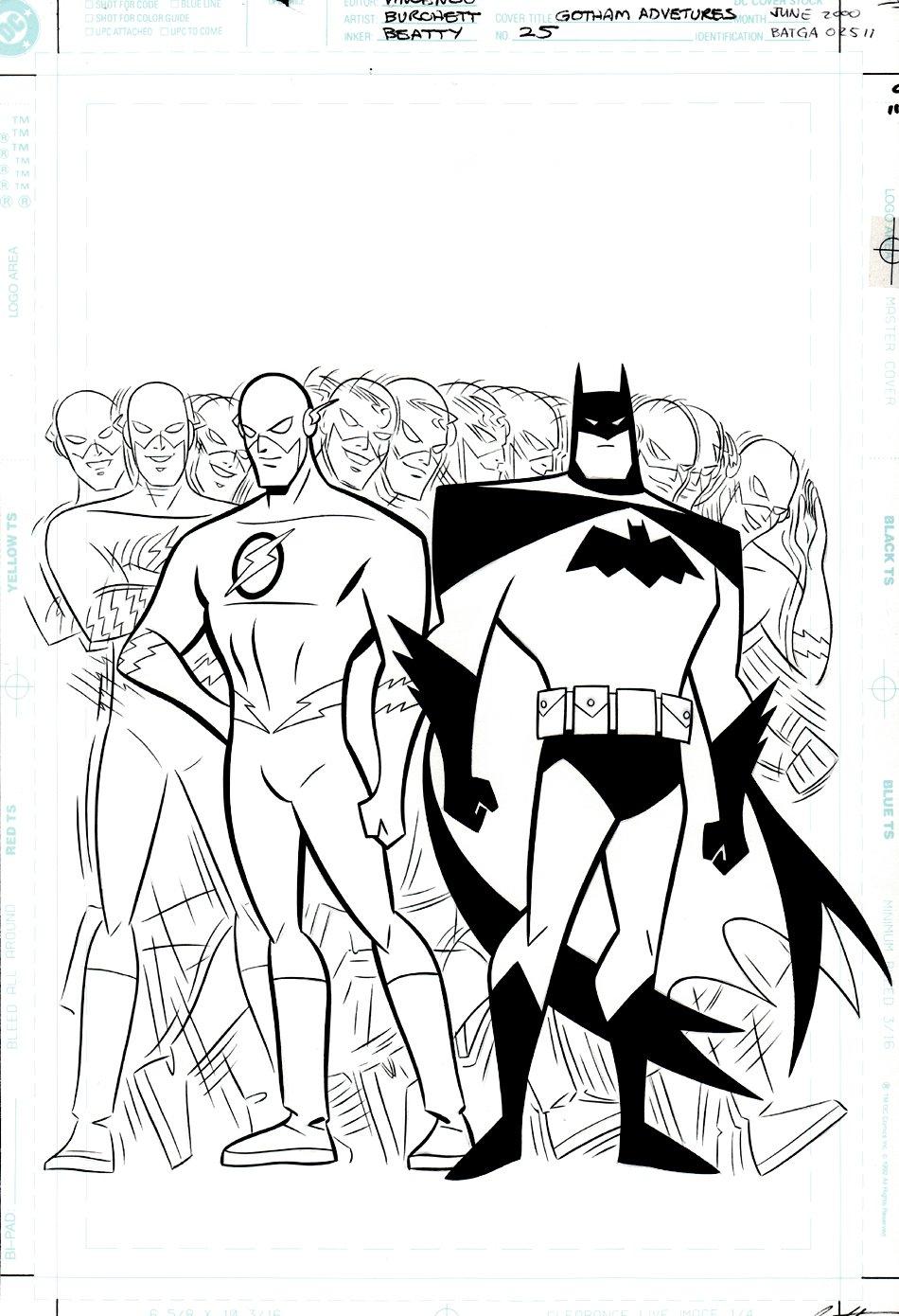 Batman: Gotham Adventures #25 Cover (2000)