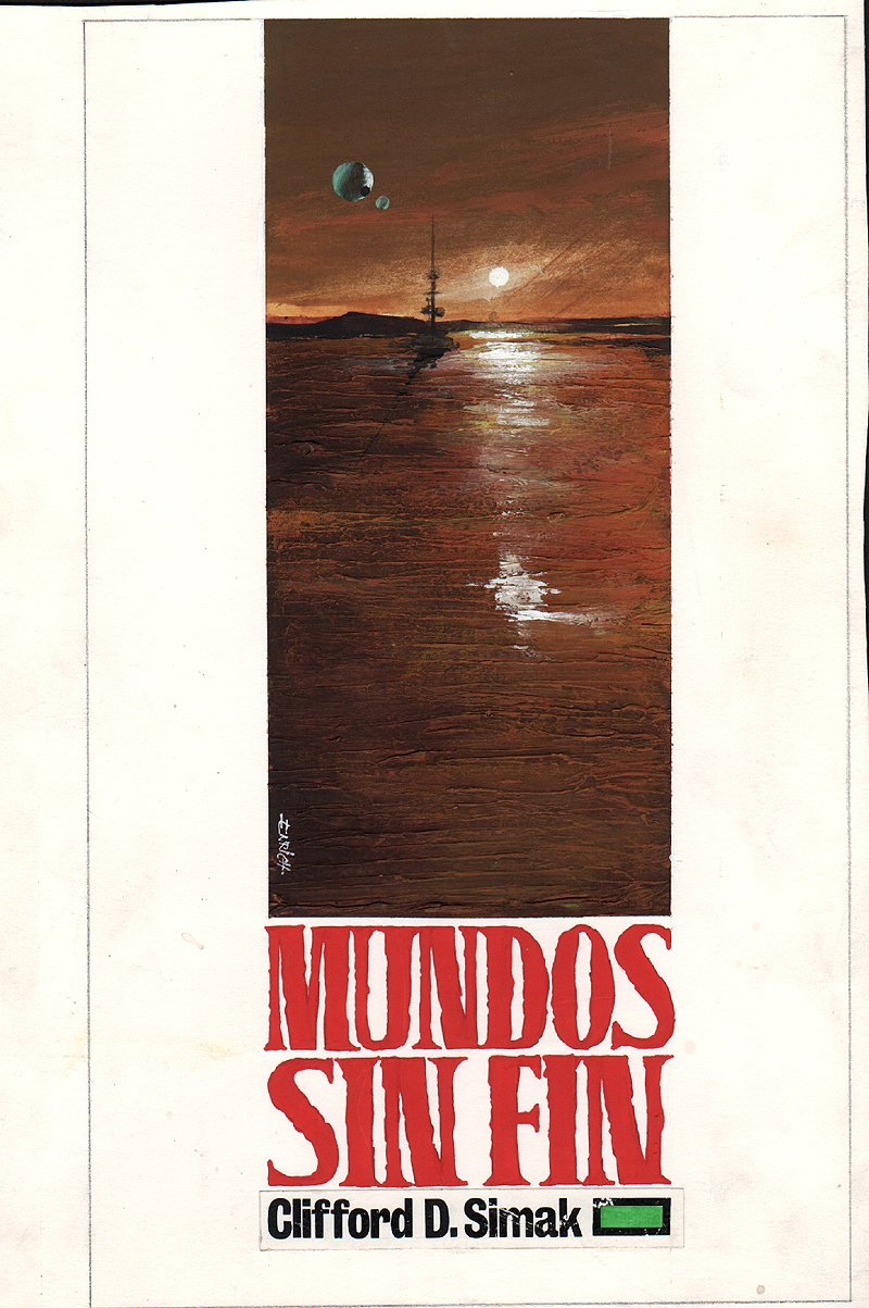 'Mundos sin Fin' Cover Painting (1967)