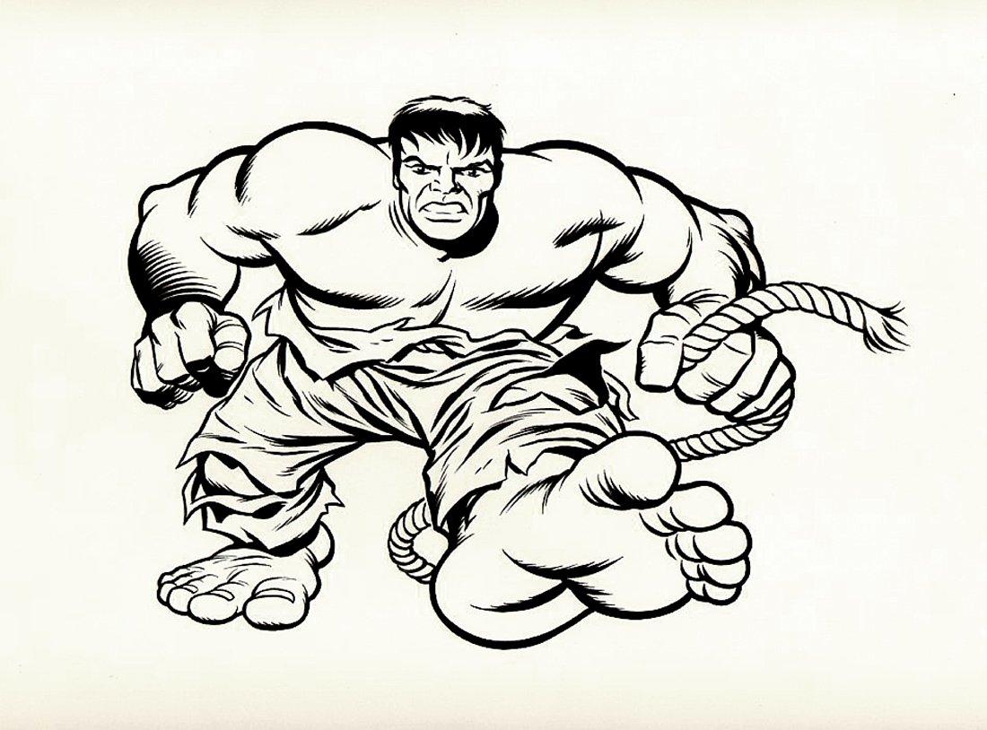 Incredible Hulk T-Shirt Design Art