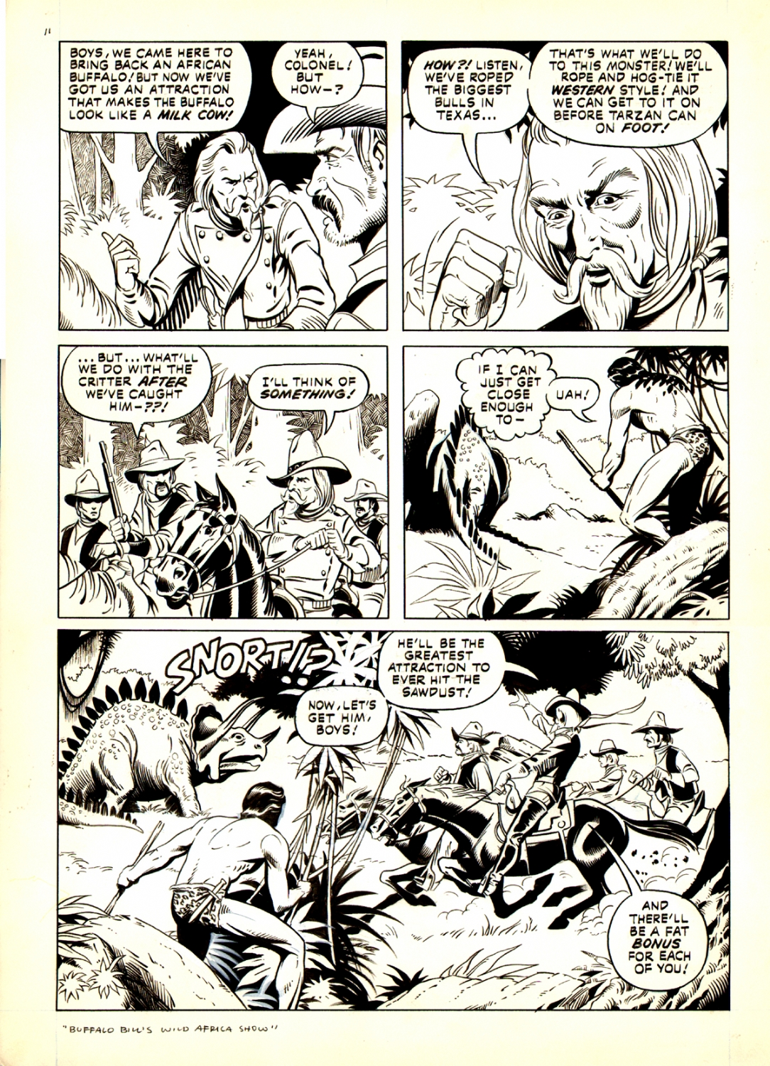 Tarzan Weekly #3 p 11 (Large Art) 1977