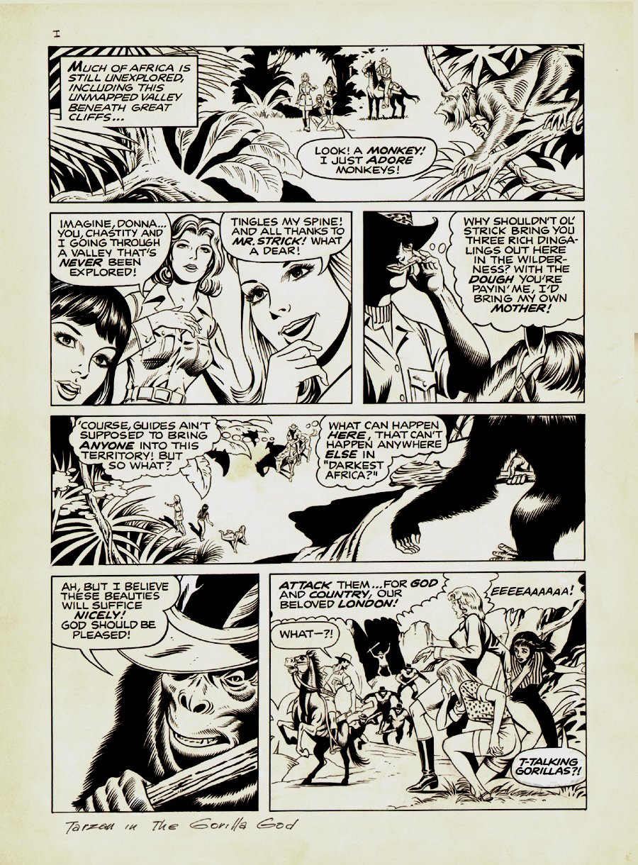 Tarzan Weekly #12 p 3 (Large Art) 1977