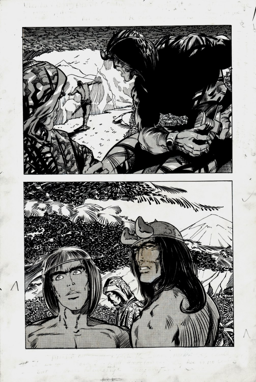 Kull Of Atlantis p 7 (Precursor To Conan The Barbarian #1 Semi-Splash) 1969-1970