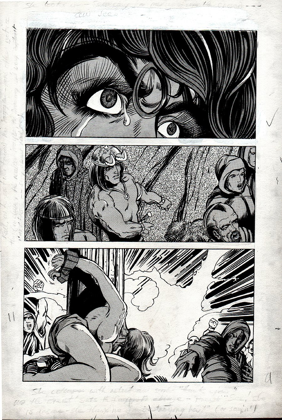 Kull Of Atlantis p 11 (Precursor To Conan The Barbarian #1) 1969-1970
