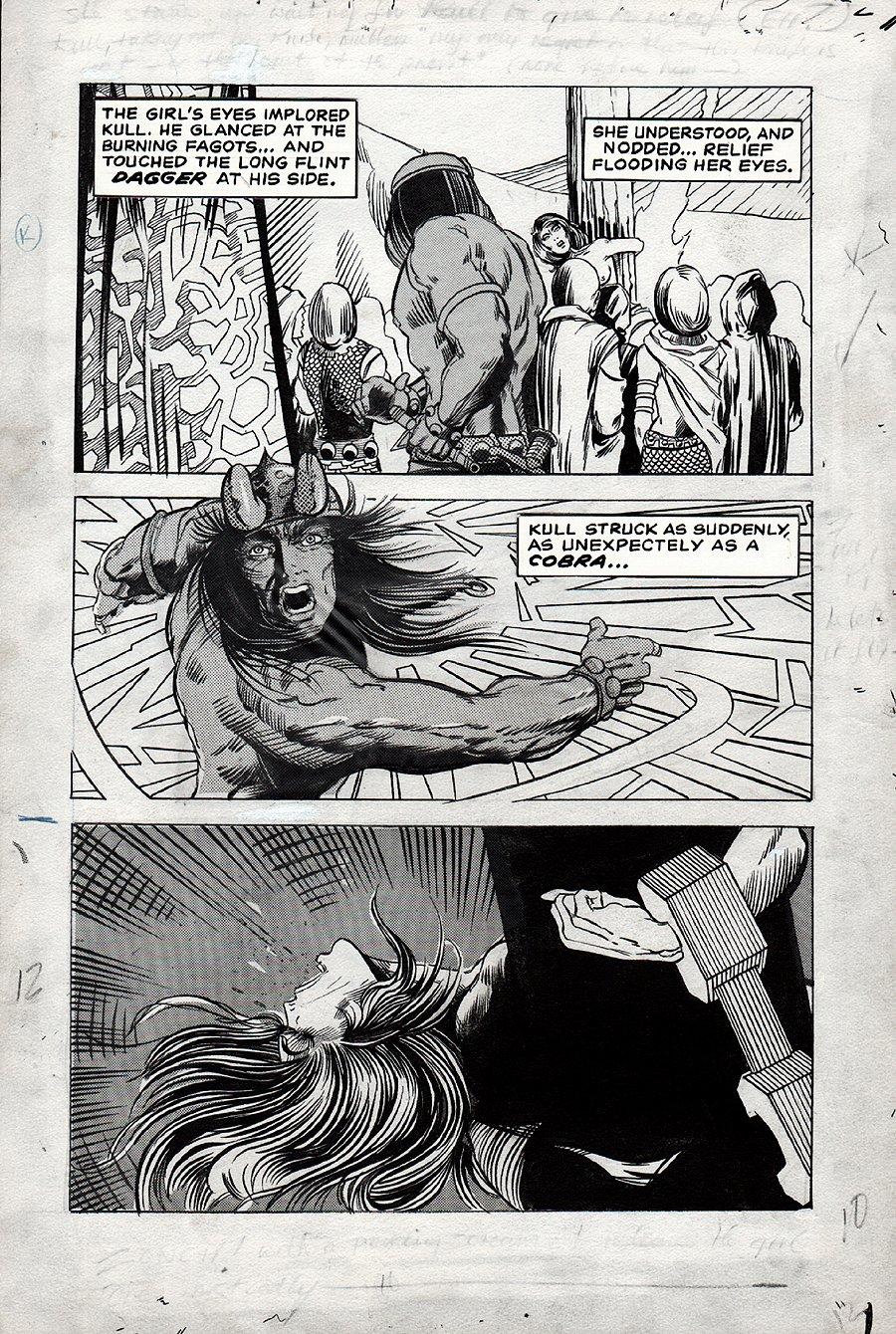 Kull Of Atlantis p 12 (Precursor To Conan The Barbarian #1) 1969-1970