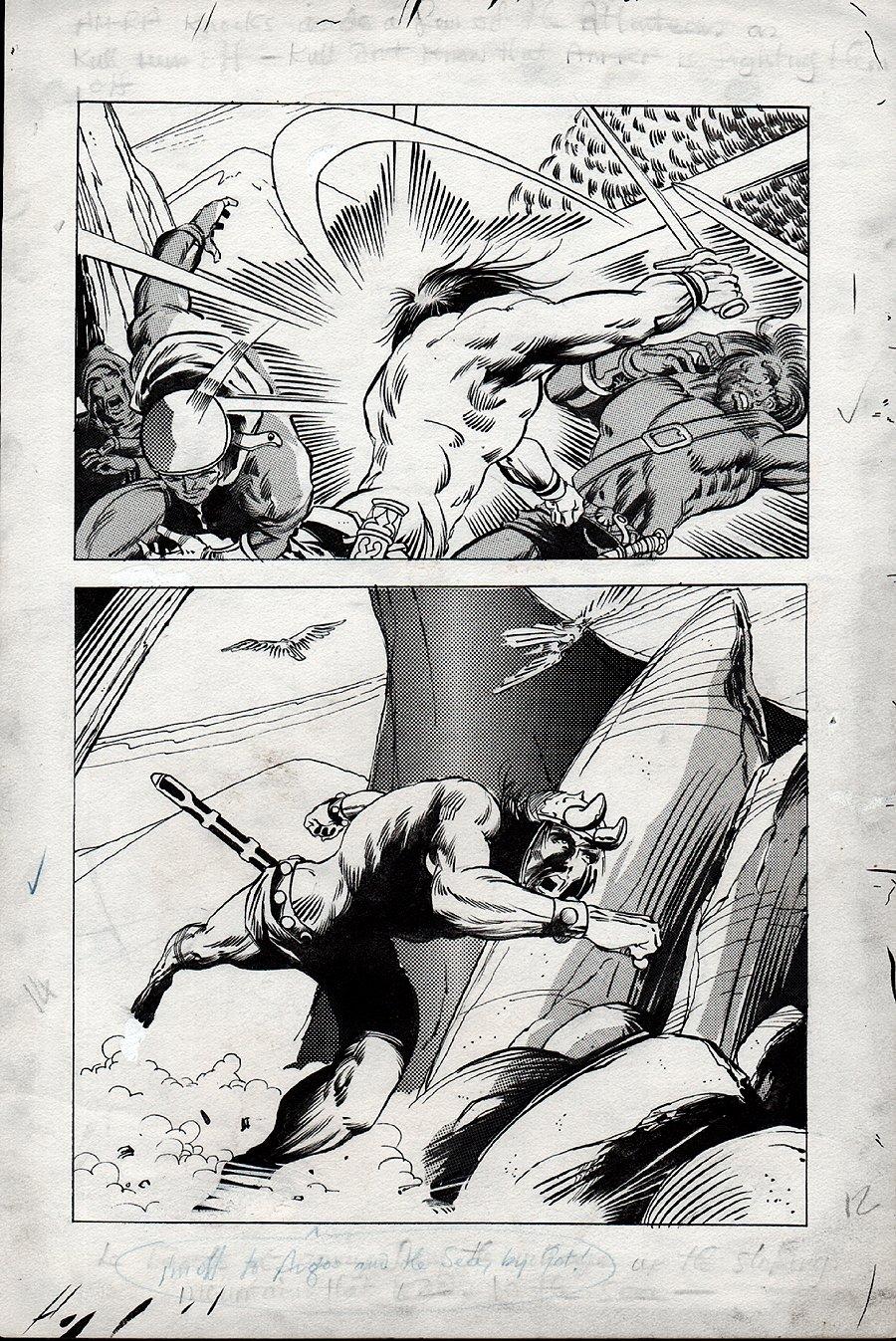 Kull Of Atlantis p 14 (Precursor To Conan The Barbarian #1) 1969-1970