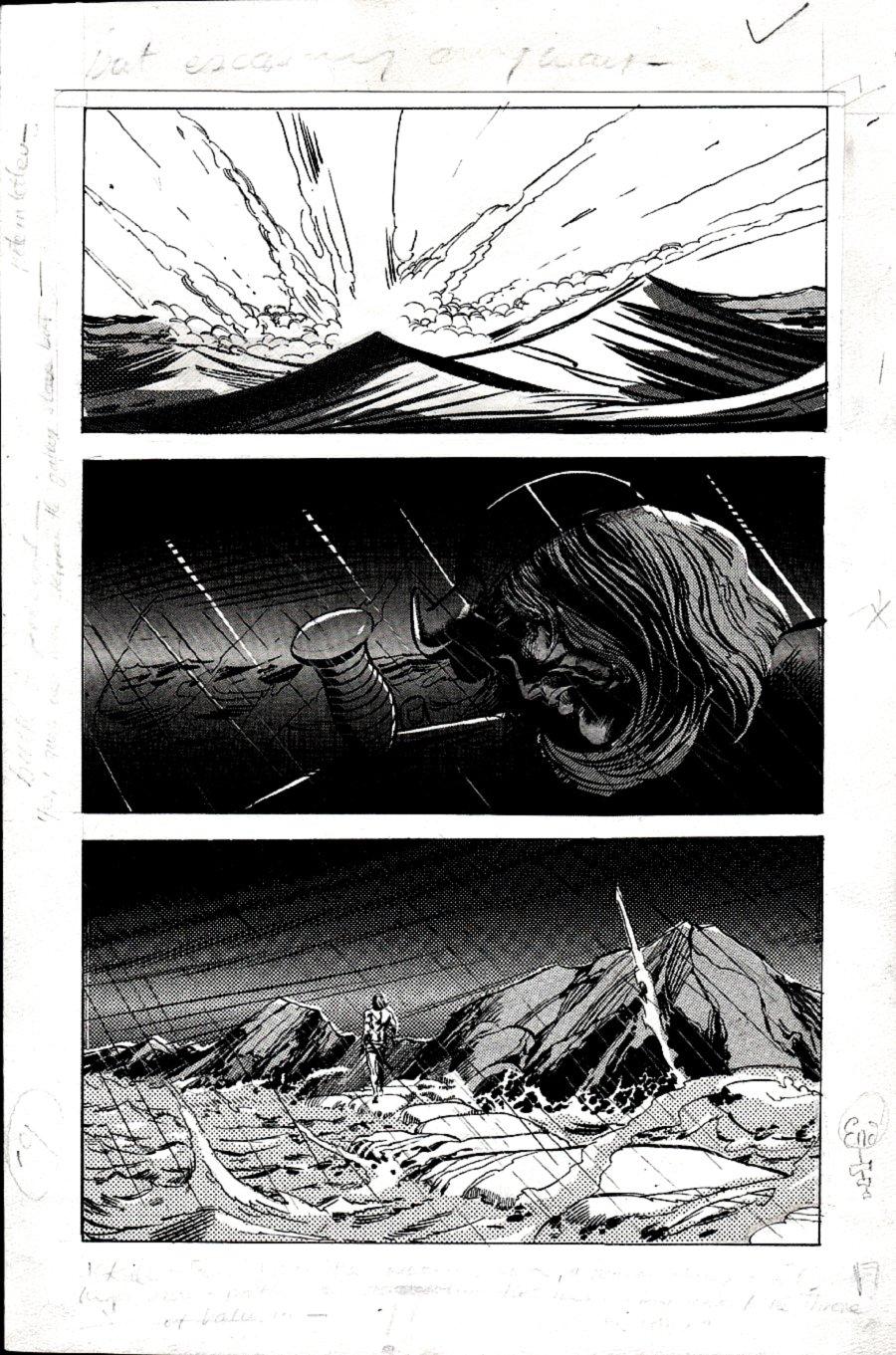 Kull Of Atlantis p 19 (Precursor To Conan The Barbarian #1) 1969-1970