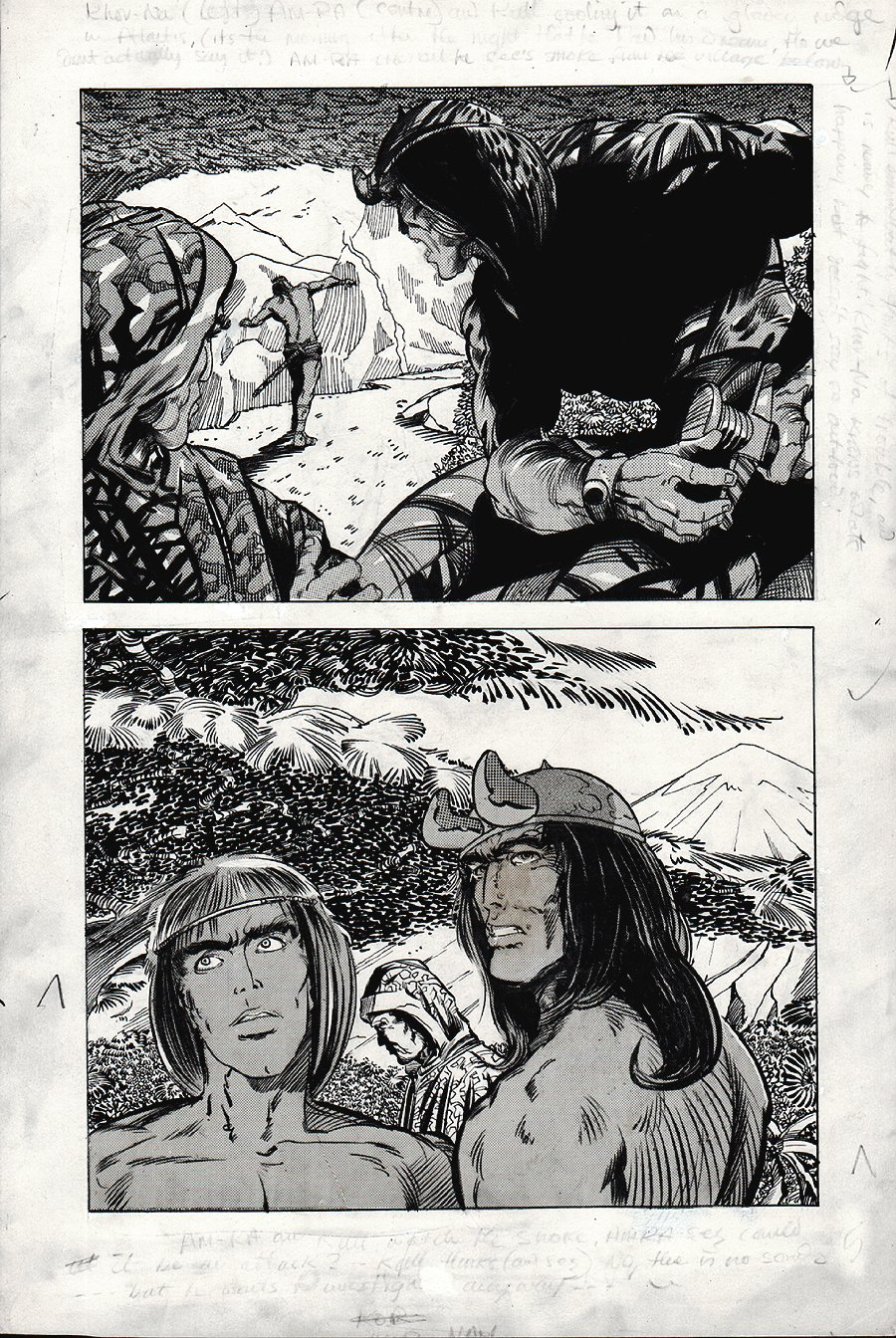 Kull Of Atlantis p 7 (Precursor To Conan The Barbarian #1) 1969-1970
