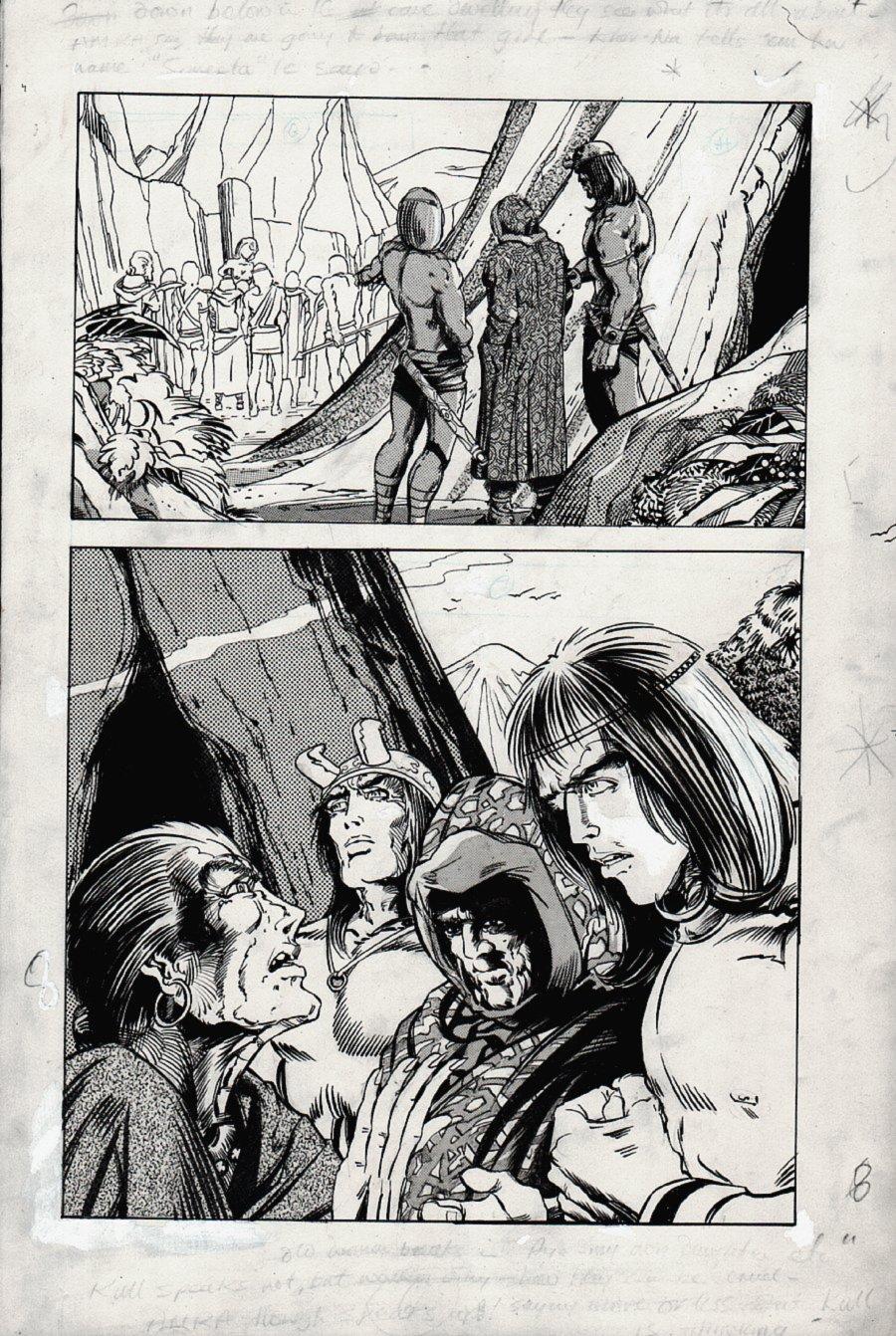 Kull Of Atlantis p 8 SPLASH (Precursor To Conan The Barbarian #1) 1969-1970