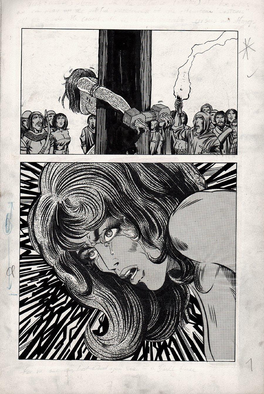 Kull Of Atlantis p 9 (Precursor To Conan The Barbarian #1) 1969-1970