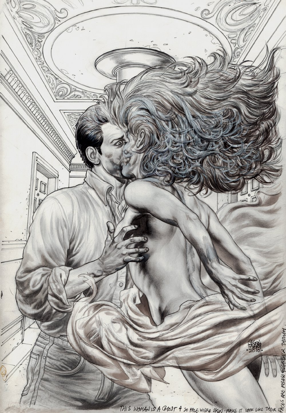 Lot 13 #2 Cover (KISSING A SEXY GHOST!) 2010