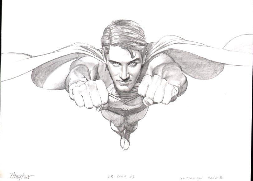 Superman Pinup (2005)