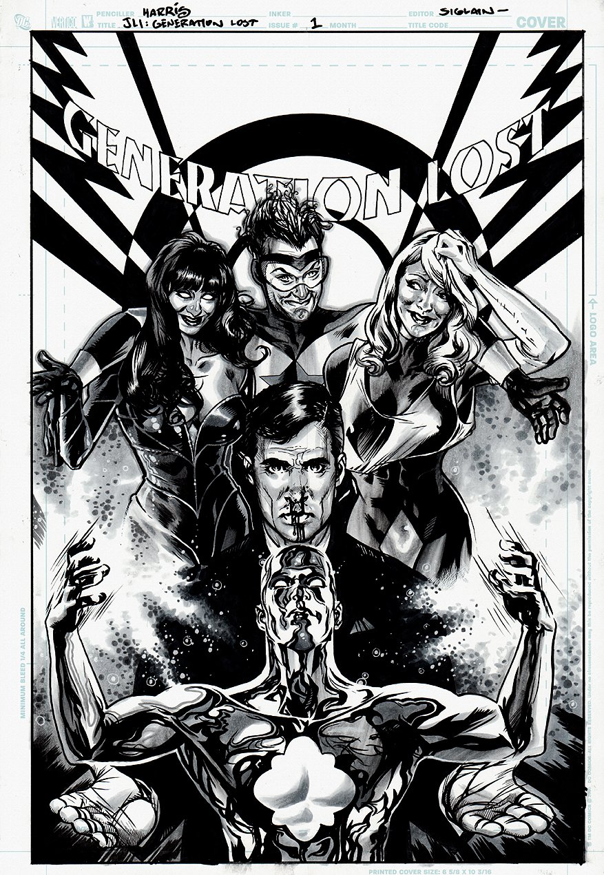 Justice League: Generation Lost #1 Cover (2010)