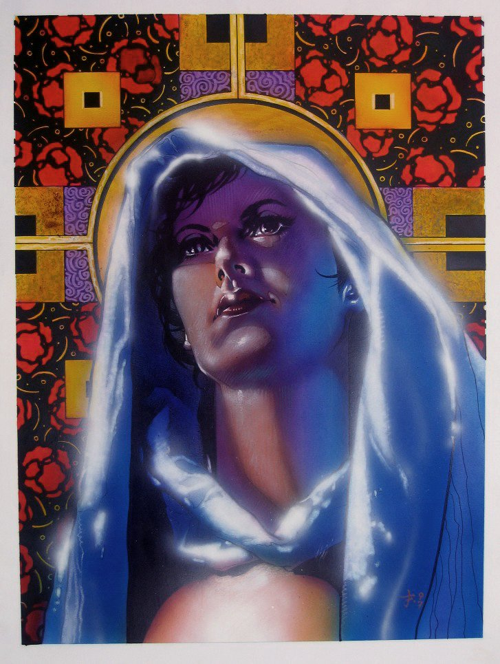 Ghost #33 Painted Cover (Large Art) 1997
