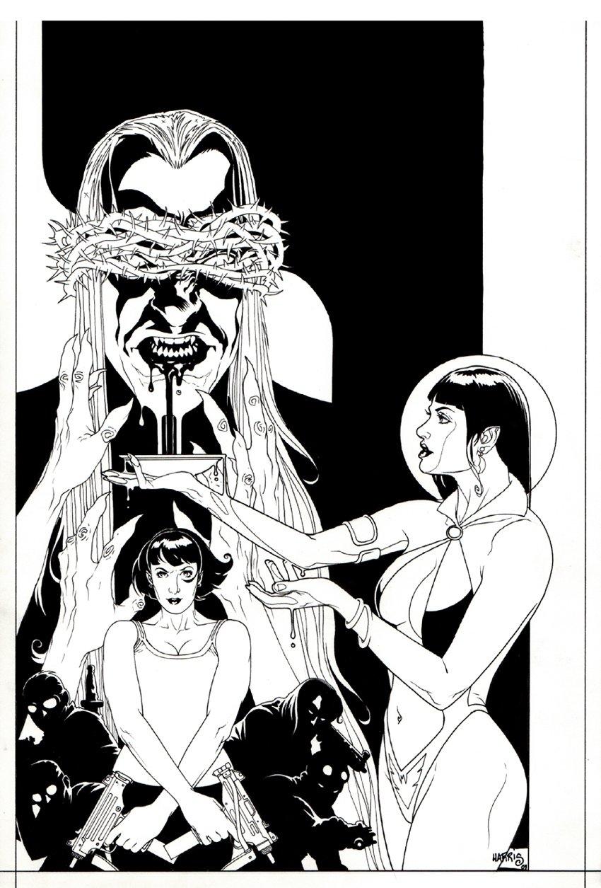 Sword of Dracula / Vampirella #1 (2008)