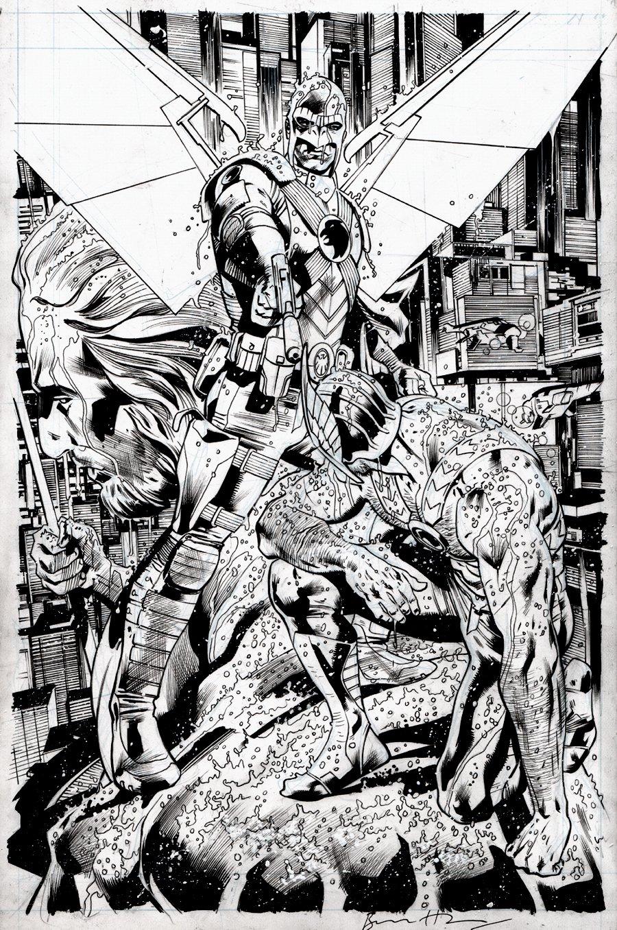 Hawkman #3 SPLASH (2018)
