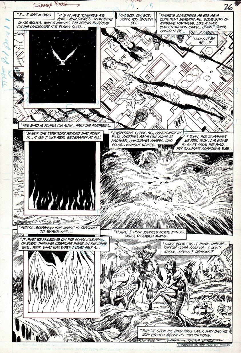 Swamp Thing #49 p 26 (1985)