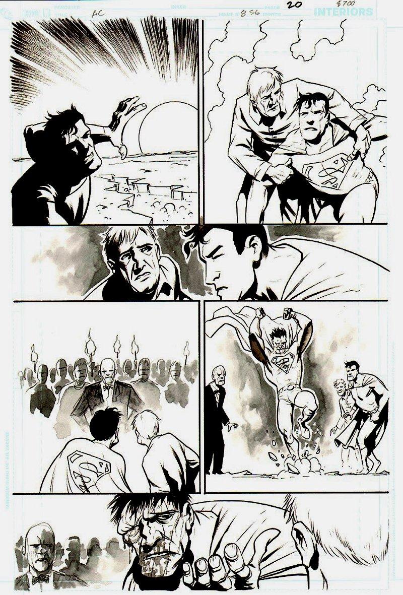 Action Comics #856 p 20 (BIZARRO!) 2007