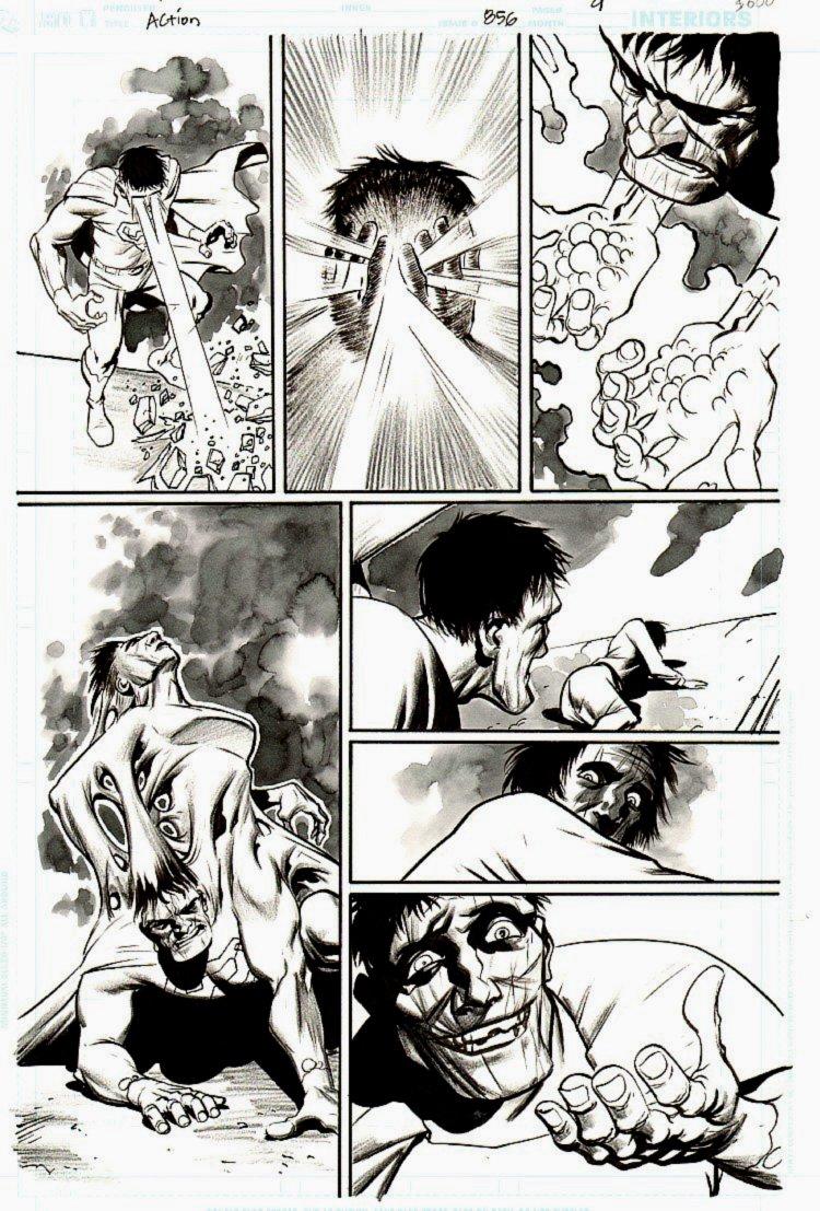 Action Comics #856 p 9 (BIZARRO!) 2007