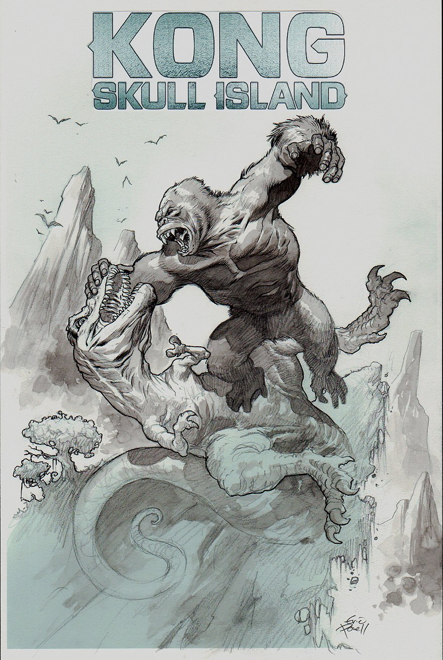 Kong of Skull Island #1 Cover (2016)