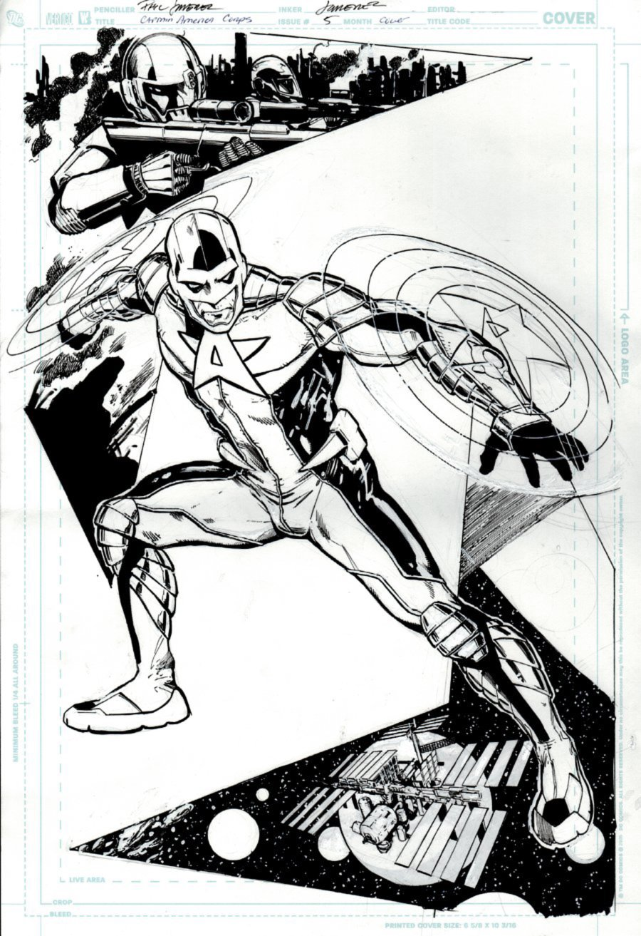 Captain America Corps #5 Cover (2011)