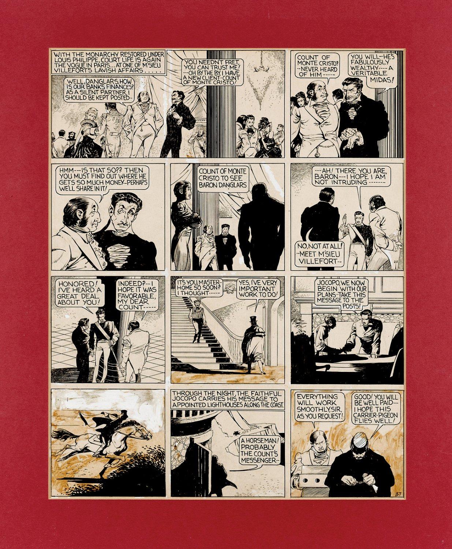 Jumbo Comics #11 p 4 (The Count of Monte Cristo) Very Large - 1939