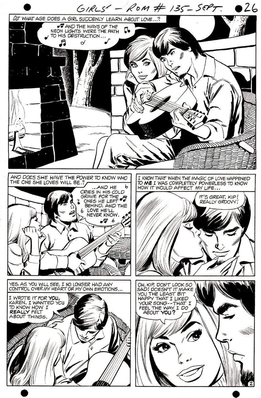 Girls' Romances #135 p 2 (1968)